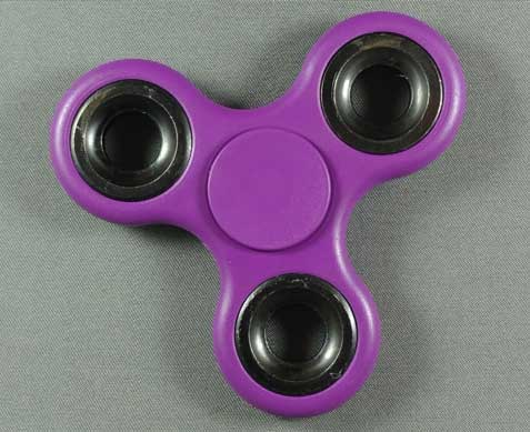 Hand Spinner Fidget Toy - Purple