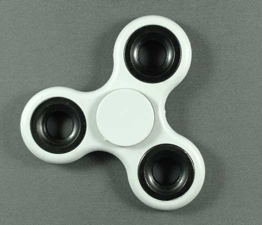 Hand Spinner Fidget Toy - White