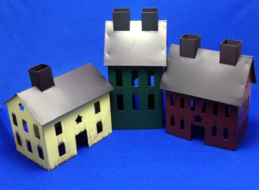 3 Small Houses