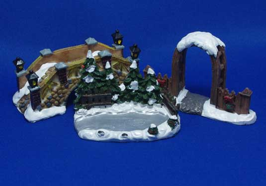 Winter Scene Set